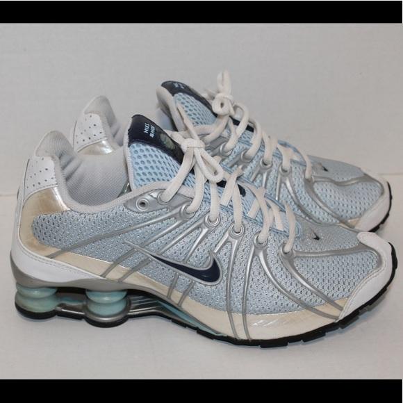 2ec4299936c Nike shox 5.5 youth pearl